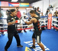 Golden Boy Promotions Media Day Workout