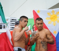 Official Weigh-In vs. Edgar Riovalle