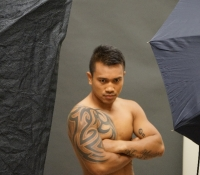 Photo Shoot at Golden Boy Promotions Office