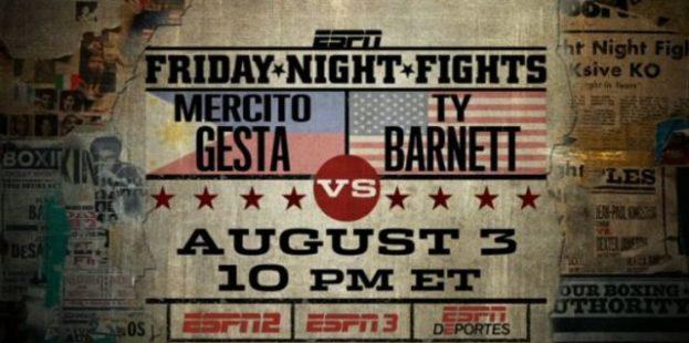 Mercito Gesta vs. Ty Barnett on ESPN Friday Nights Fight